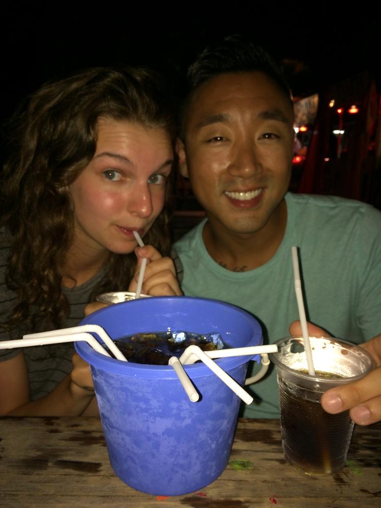 Drinking Buckets