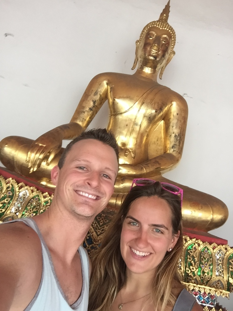 In the Wat Pho Temple