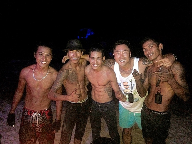 Mac. Soe, Phyo and the rest of the fireshow crew