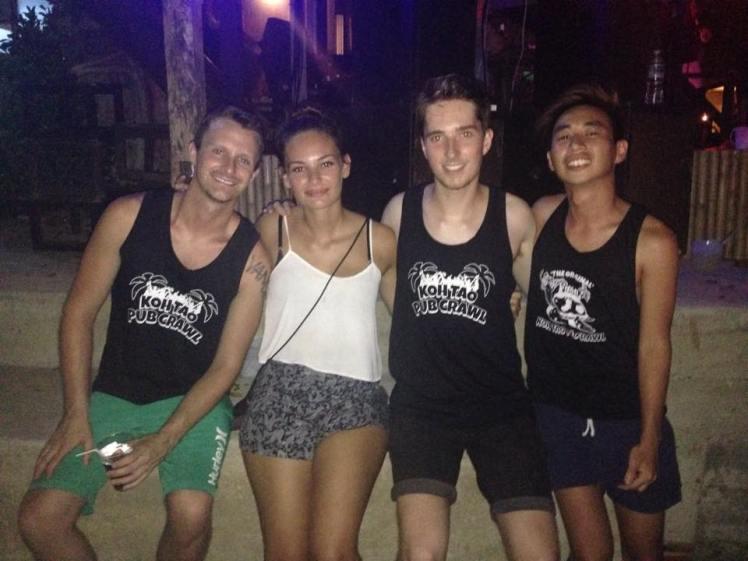 Pub Crawl with Alex, Ian and Bryan