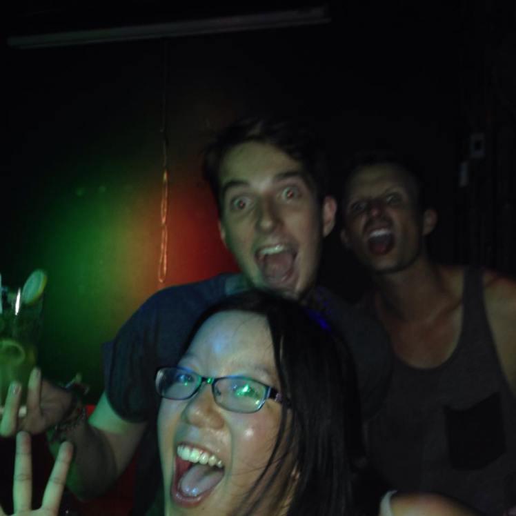 Good times at The Rock Bar