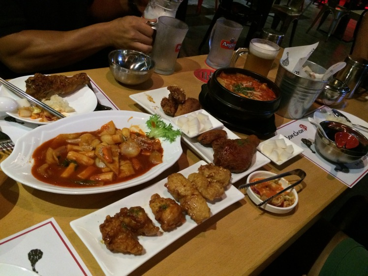 Eating at Bonchon made me want to go to Korea!
