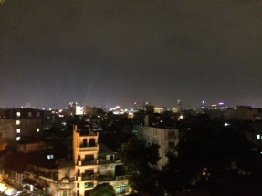 View from the hostel rooftop